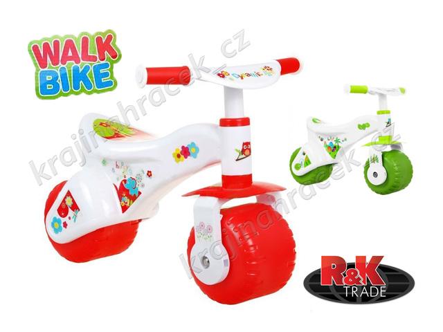 Dětské plastové odrážedlo Walk Bike kolo pro nejmenší děti
