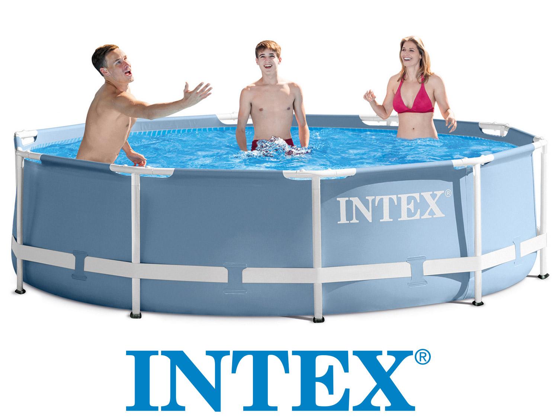 Intex 28700 zahradní bazén 305 x 76 cm Prism Frame