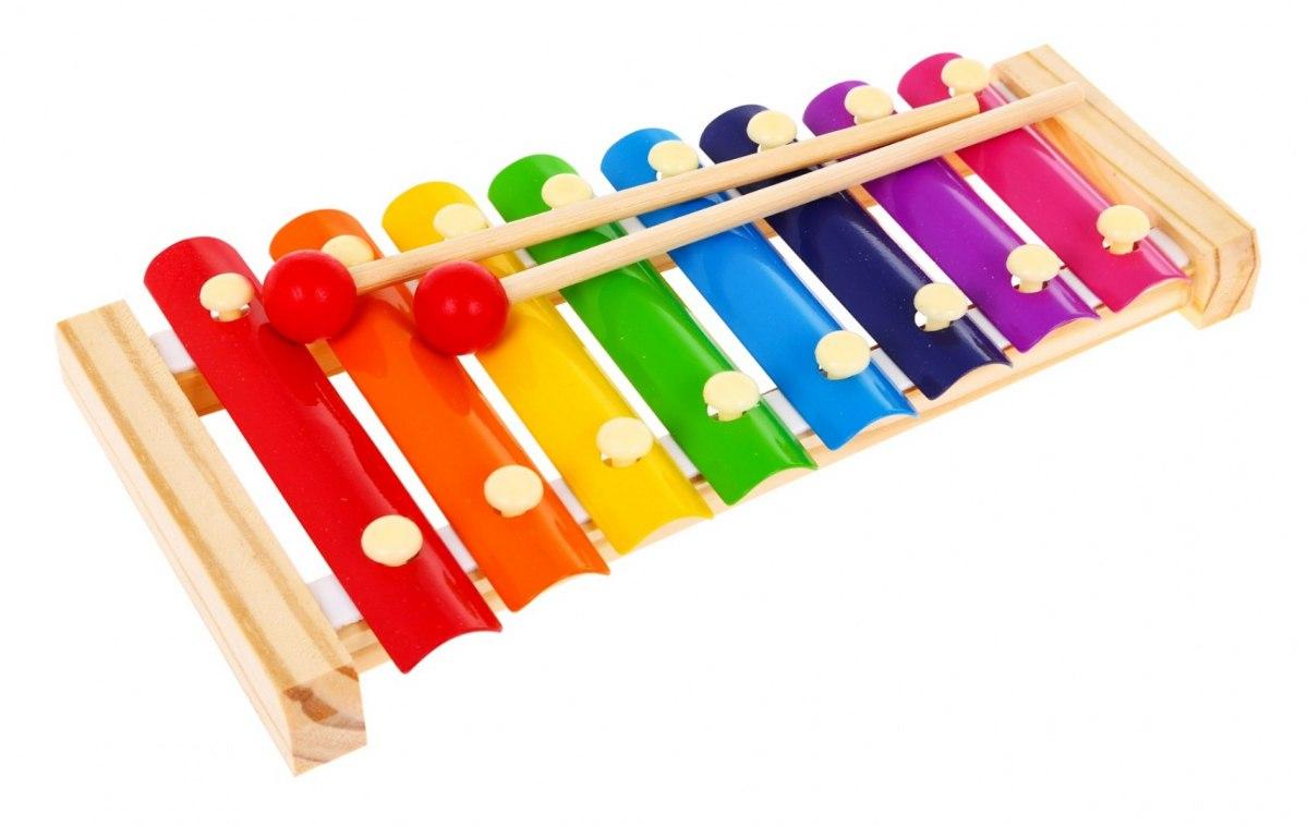 Dětský xylofon s paličkami