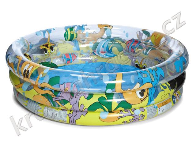 Bestway dětský nafukovací bazének pro nejmenší + míčky