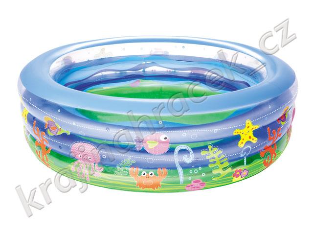 Bestway dětský nafukovací bazének mořský svět