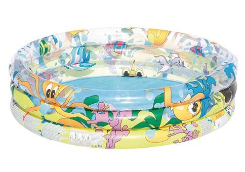 Bestway 51004 dětský bazének nafukovací bazén vodní svět 152 x 30 cm