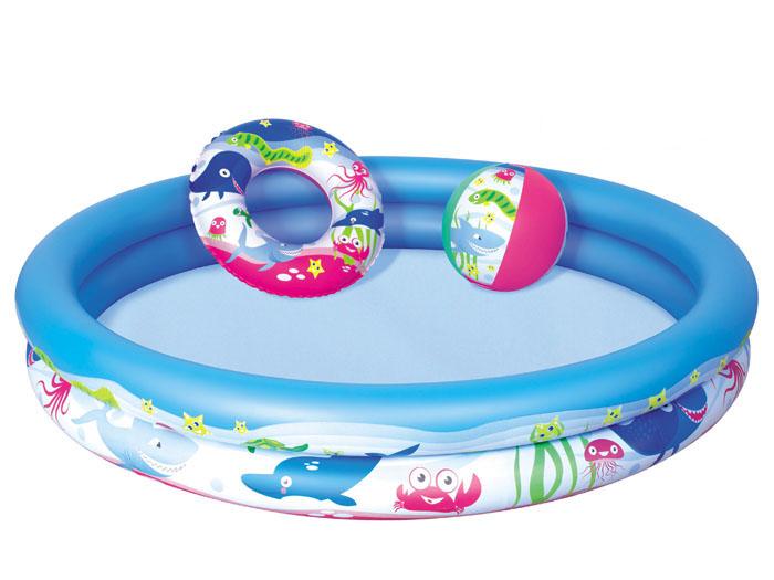 Bestway dětský bazének bazén s doplňky pro nejmladší 147 / 25 cm 51120
