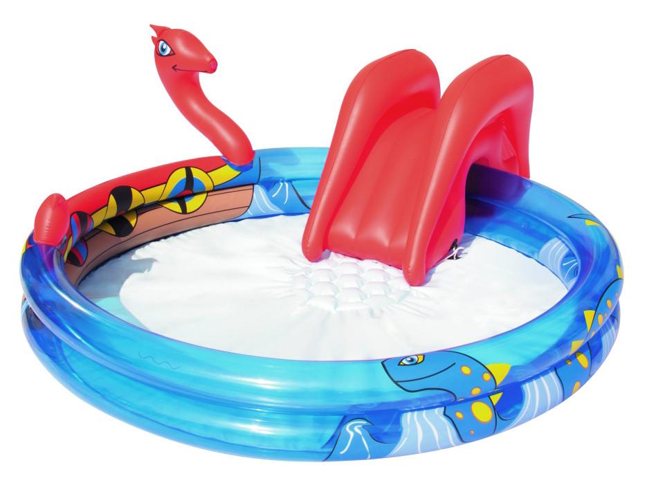 Bestway dětský nafukovací bazének drak 203/165/73 cm