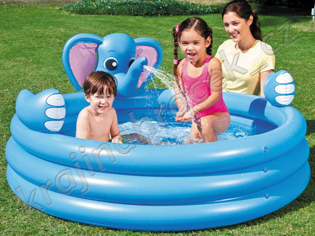 Bestway nafukovací bazének bazén slon 152x74 cm