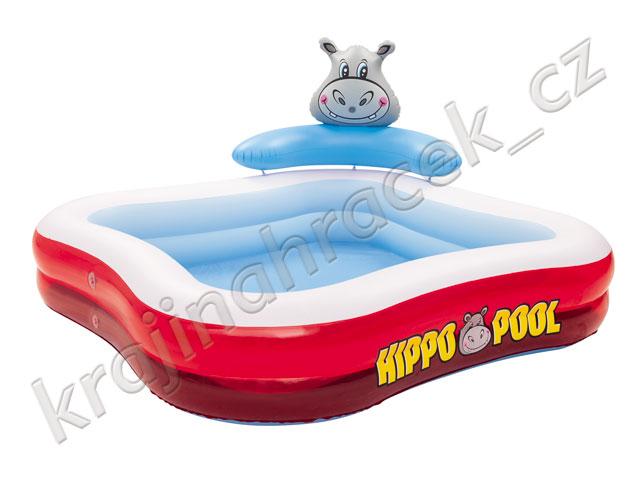 Bestway dětský nafukovací bazének bazén HIPPO POOL
