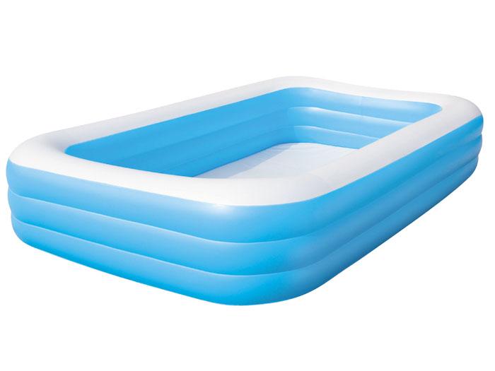 Bestway velký nafukovací hranatý bazének pro děti 305 / 183 / 56 cm 54009