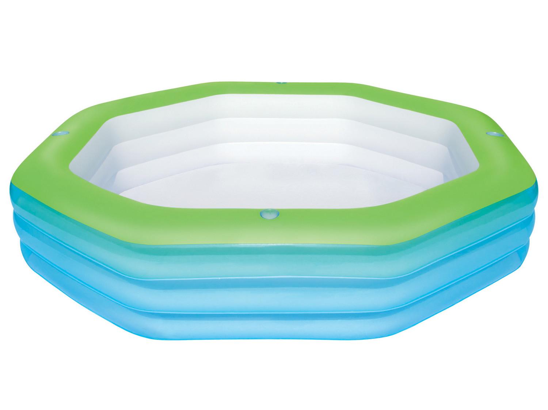 Bestway dětský nafukovací bazének osmiúhelník 251/251/51 cm