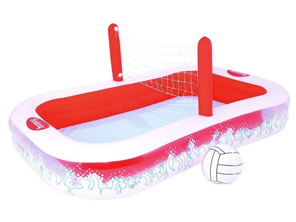 Bestway dětský nafukovací bazén se síťkou 254 / 168 / 97 cm 54125