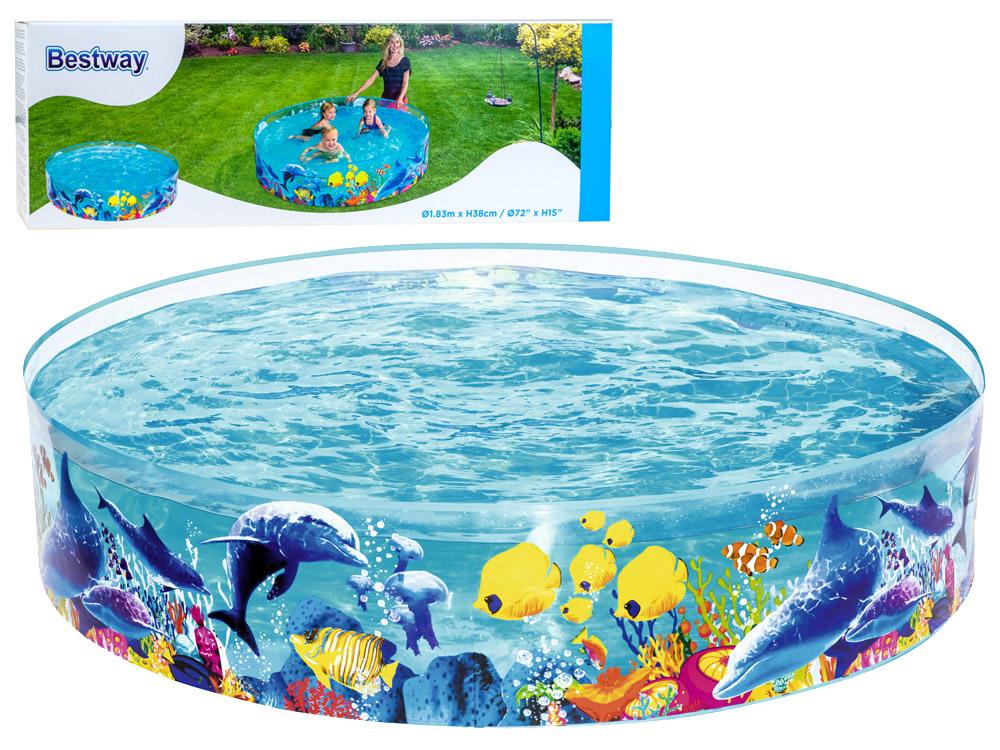 Bestway 55030 nafukovací bazének NEMO 183 x 38 cm