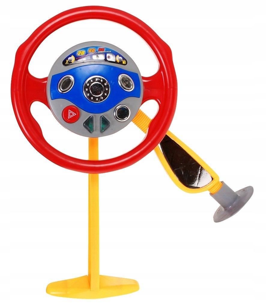 Interaktivní elektrický dětský volant hračka do auta