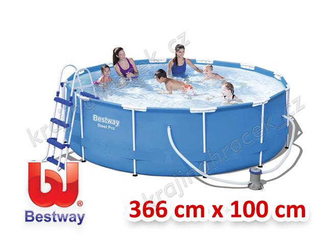 Bestway zahradní bazén 366x100 cm 4 v 1 56418 DOPRAVA ZDARMA