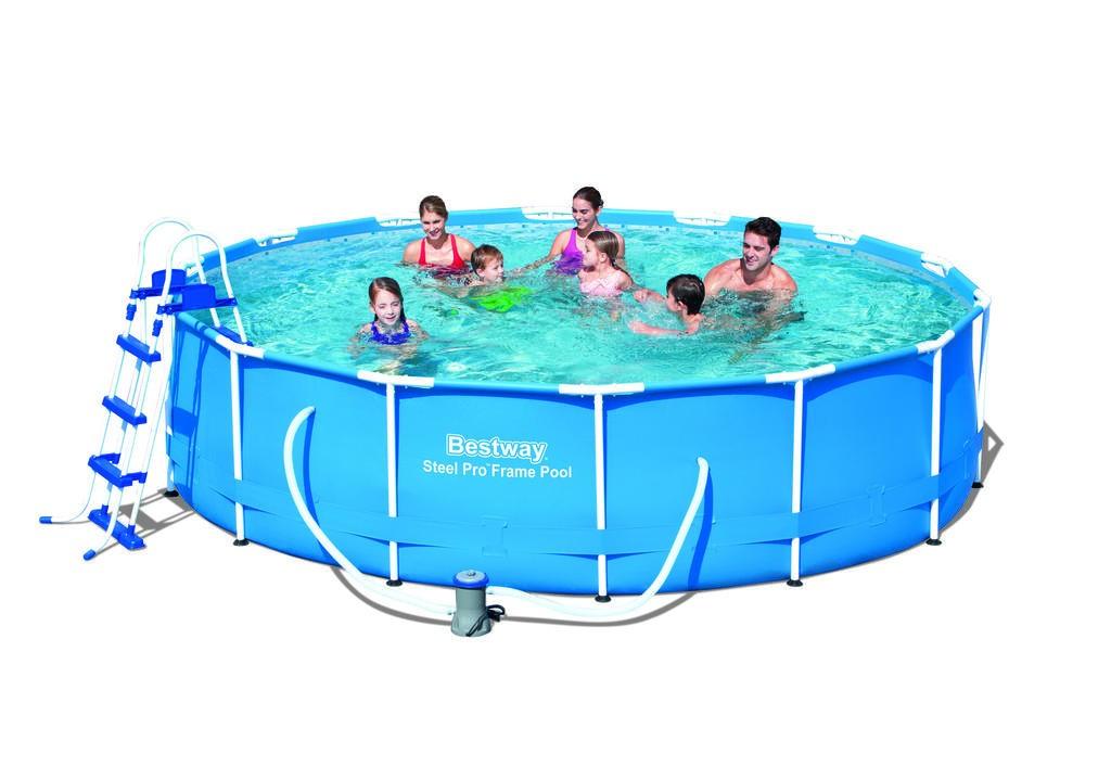 Bestway zahradní bazén 427 / 100 cm 14 v 1 56422
