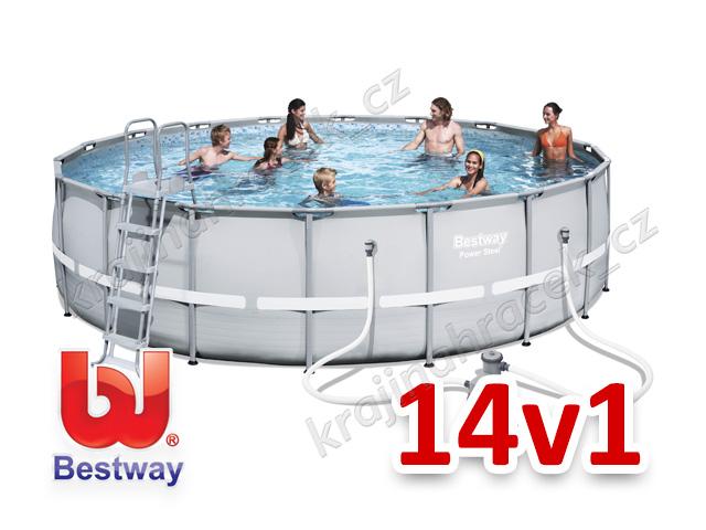 Bestway zahradní bazén 549 / 132 cm 14 v 1 56427