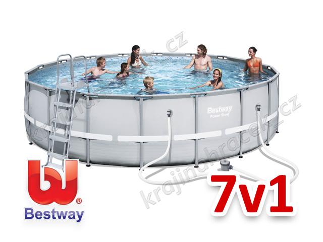 Bestway zahradní bazén 549 / 132 cm 7 v 1 56427