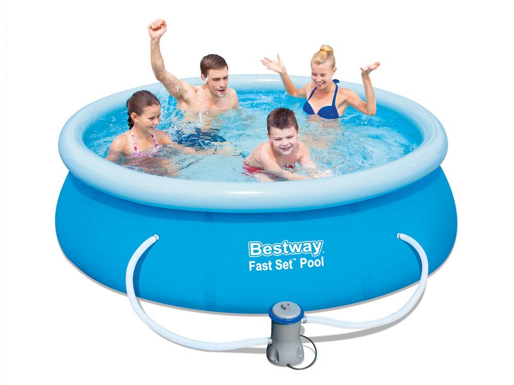 Bestway 57268 Zahradní bazén s nafukovacím límcem 244 x 66 cm