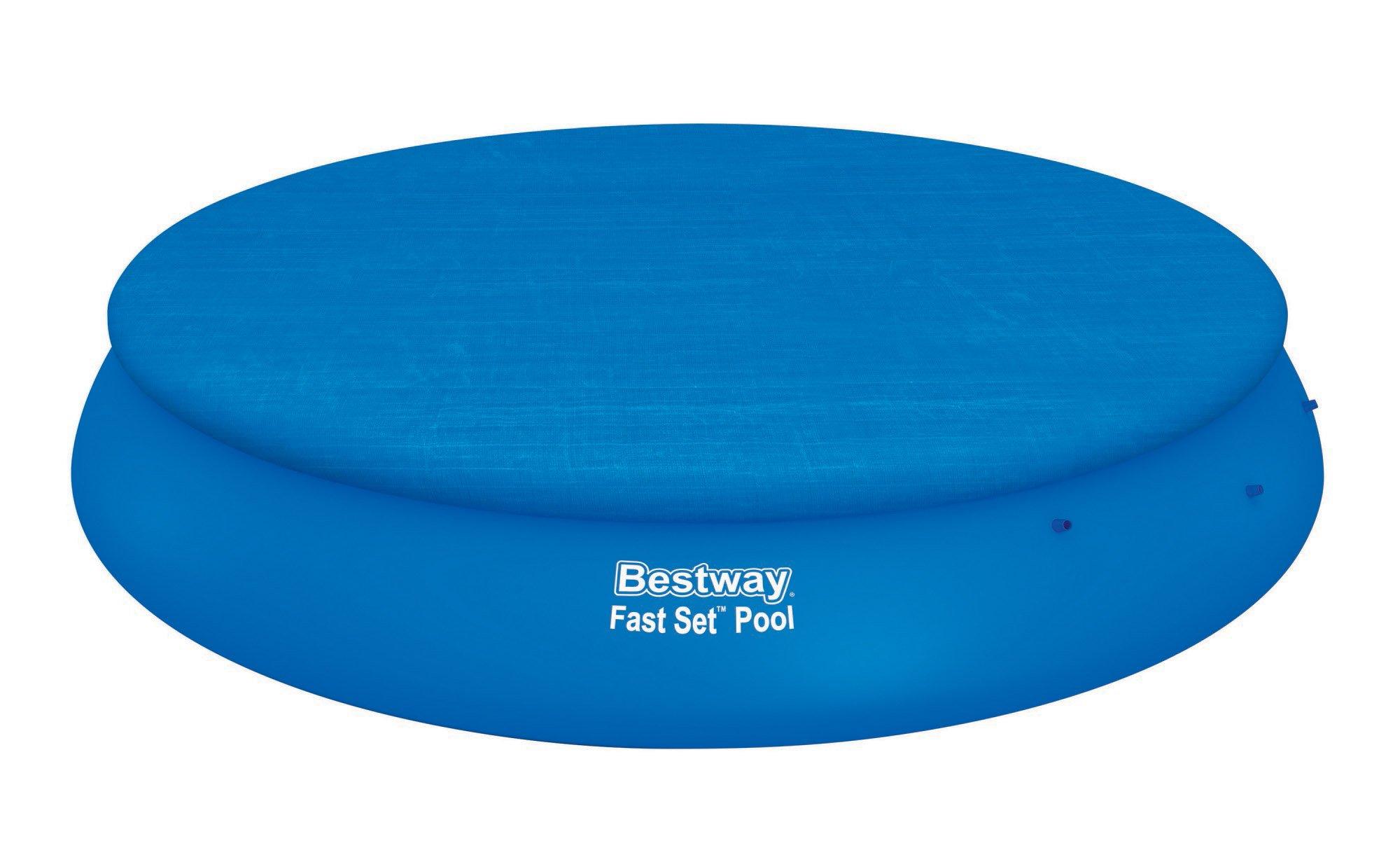 Bestway krycí plachta na bazén s límcem kryt 495 cm