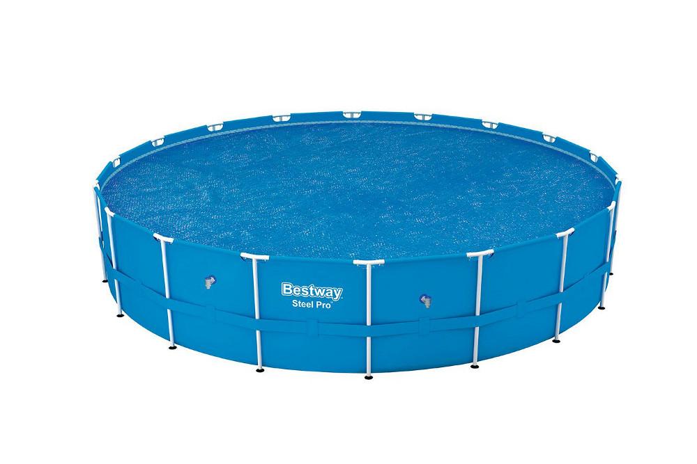 Bestway solární plachta na bazén s konstrukcí 527 cm