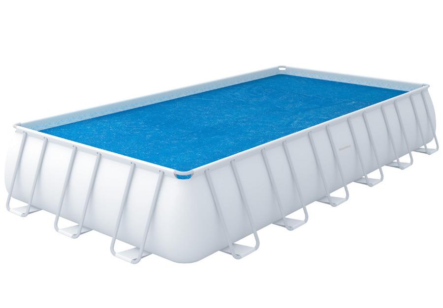 Bestway solární plachta na bazén s konstrukcí 687/336 cm