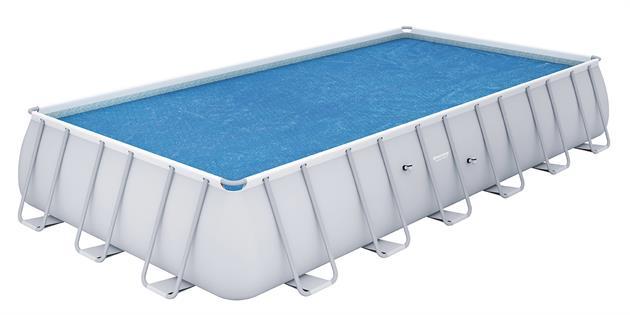 Bestway solární plachta na bazén s konstrukcí 630/335 cm