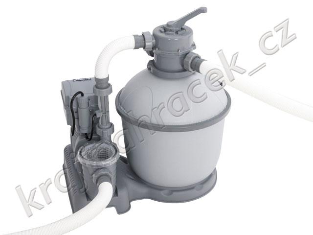 Písková bazénová filtrace čerpadlo 4542 l/hod.