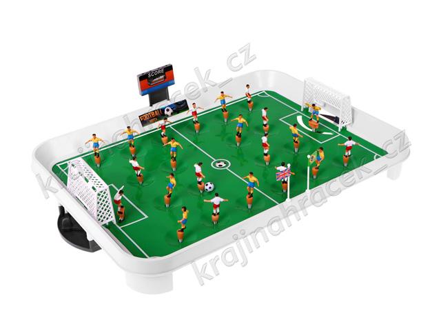 Fotbálek pružinový stolní fotbal hra football
