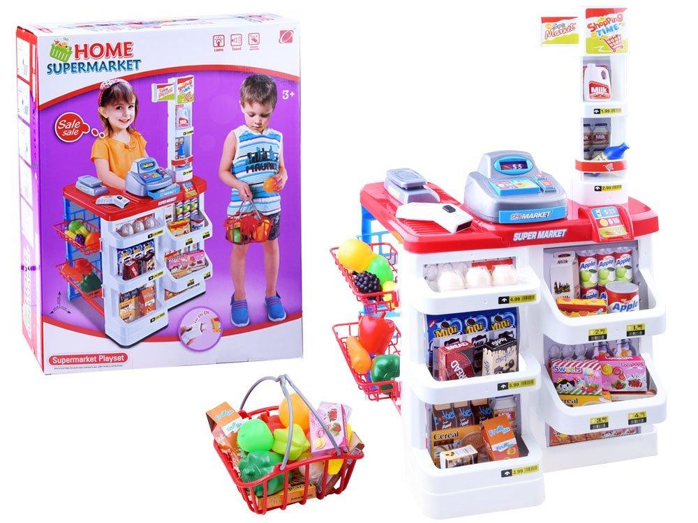 Supermarket s doplňky - nákupní košík