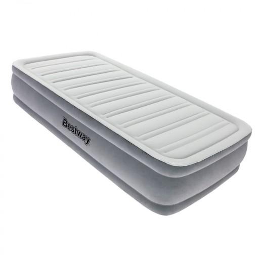 Bestway pohodlné nafukovací lehátko matrace SINGLE 191x97x36 cm + pumpička