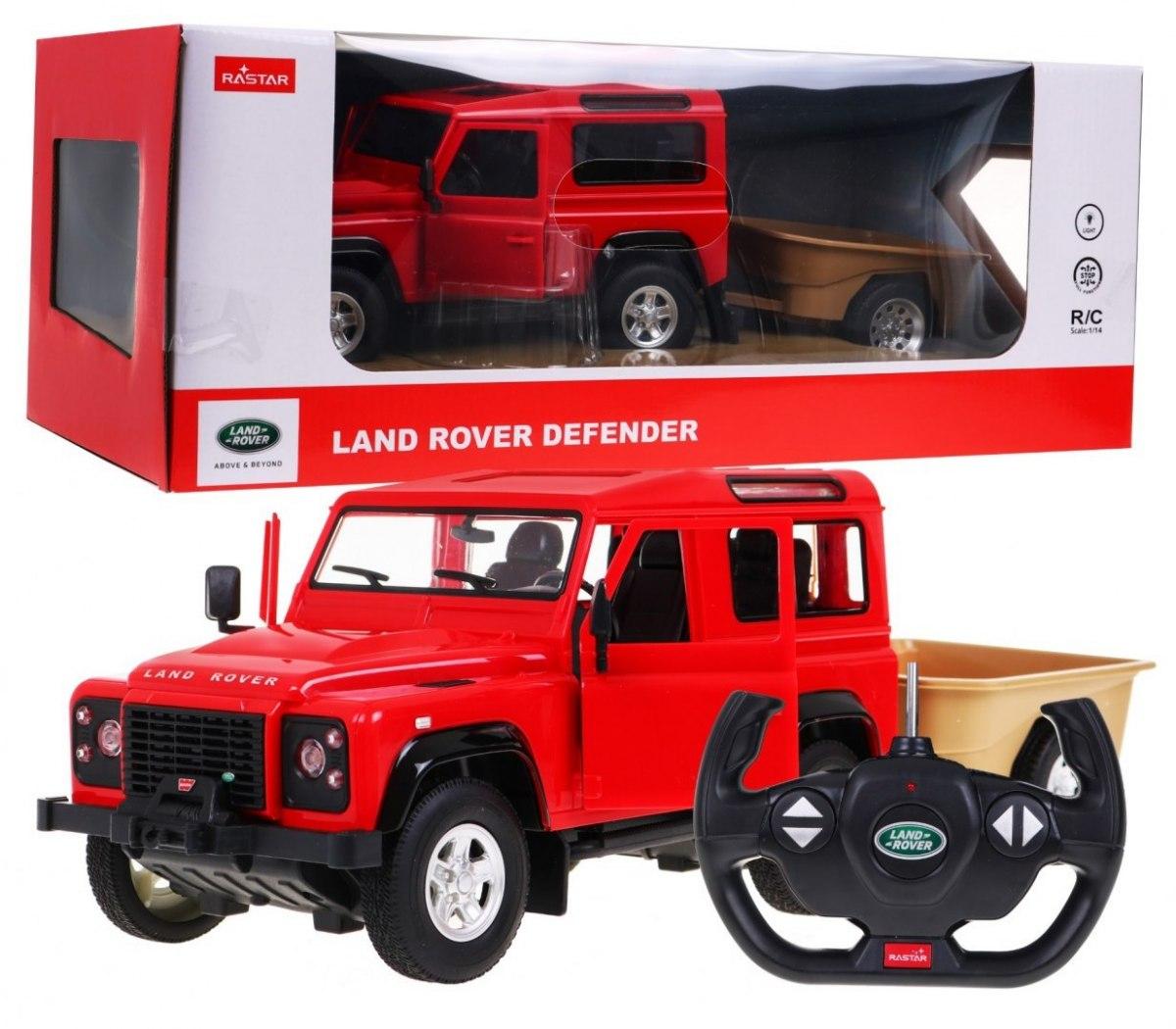 Rastar R/C Land Rover Defender na dálkové ovládání 1:14