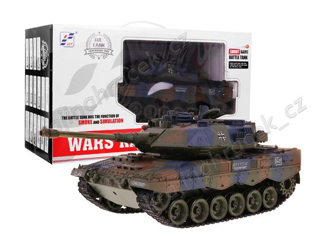 Tank s dýmem na dálkové ovládání Leopard 2 A6 1:18