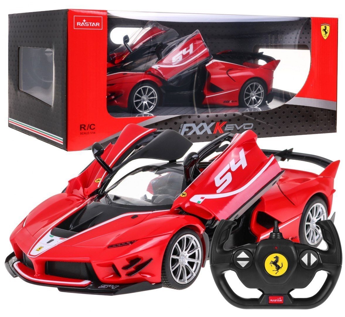 Rastar R/C Ferrari FXX K EVO na dálkové ovládání 1:14