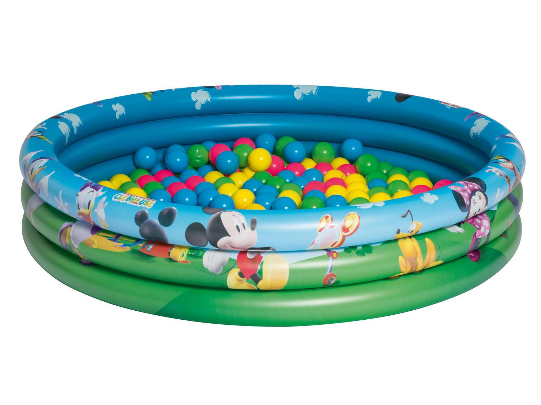 Bestway dětský nafukovací bazének s motivy disney 122 x 25 cm 91028