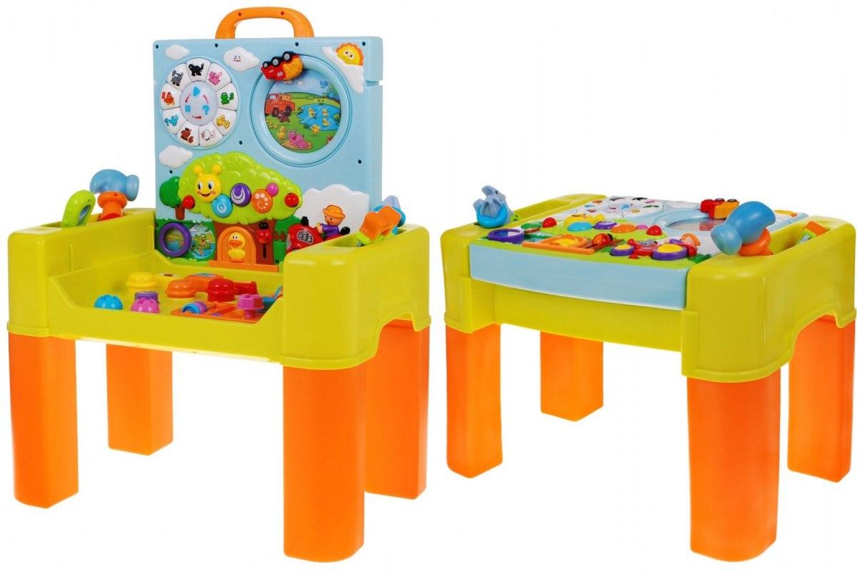 Huile Toys Dětský stoleček s hrací plochou 6v1