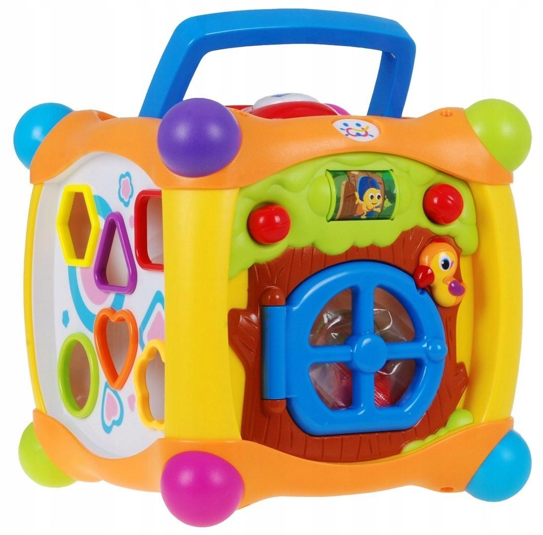 Huile Toys 936 Multifunkční kostka pro nejmenší