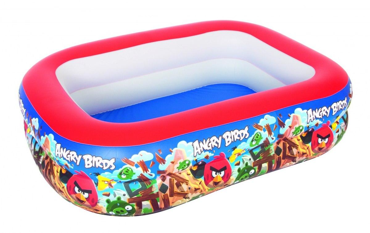 Bestay dětský nafukovací bazén bazének angry birds 201 / 150 / 51 cm