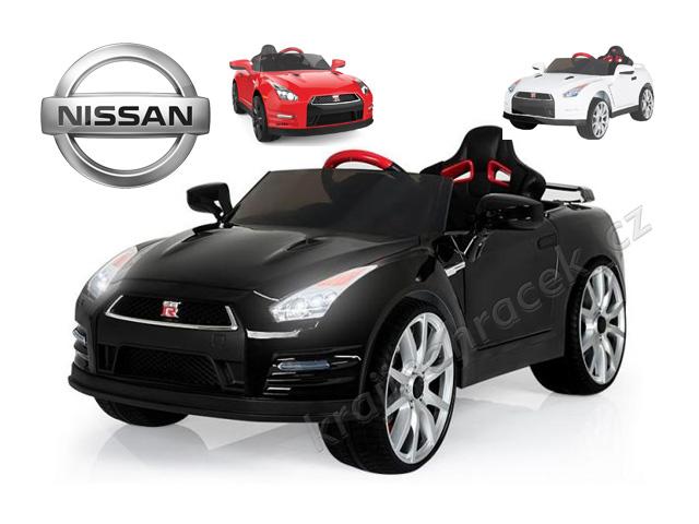 Dětské elektrické auto licenční Nissan GT-R + ovládání