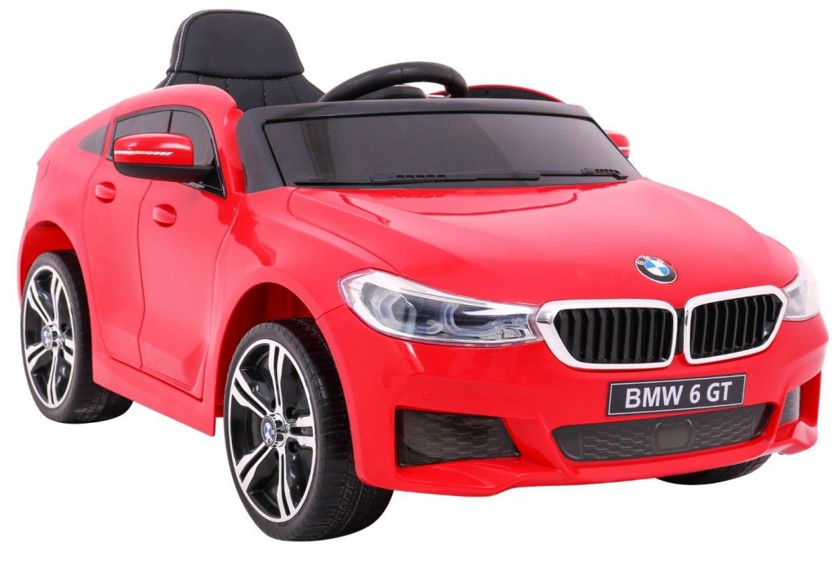 BMW 6 GT dětské elektrické auto 4x4 - Červená