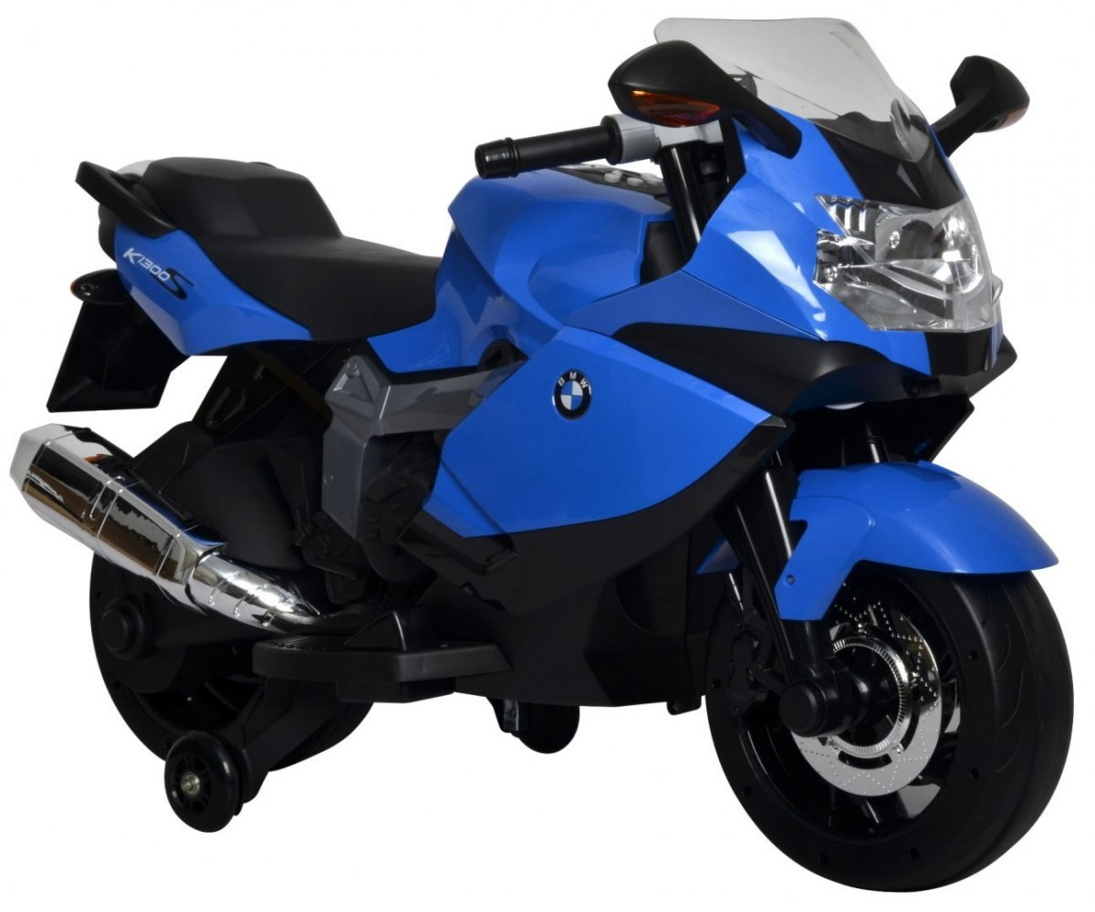 BMW K1300S elektrická motorka - modrá
