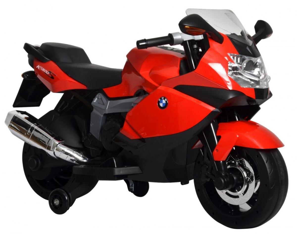 BMW K1300S elektrická motorka - Červená