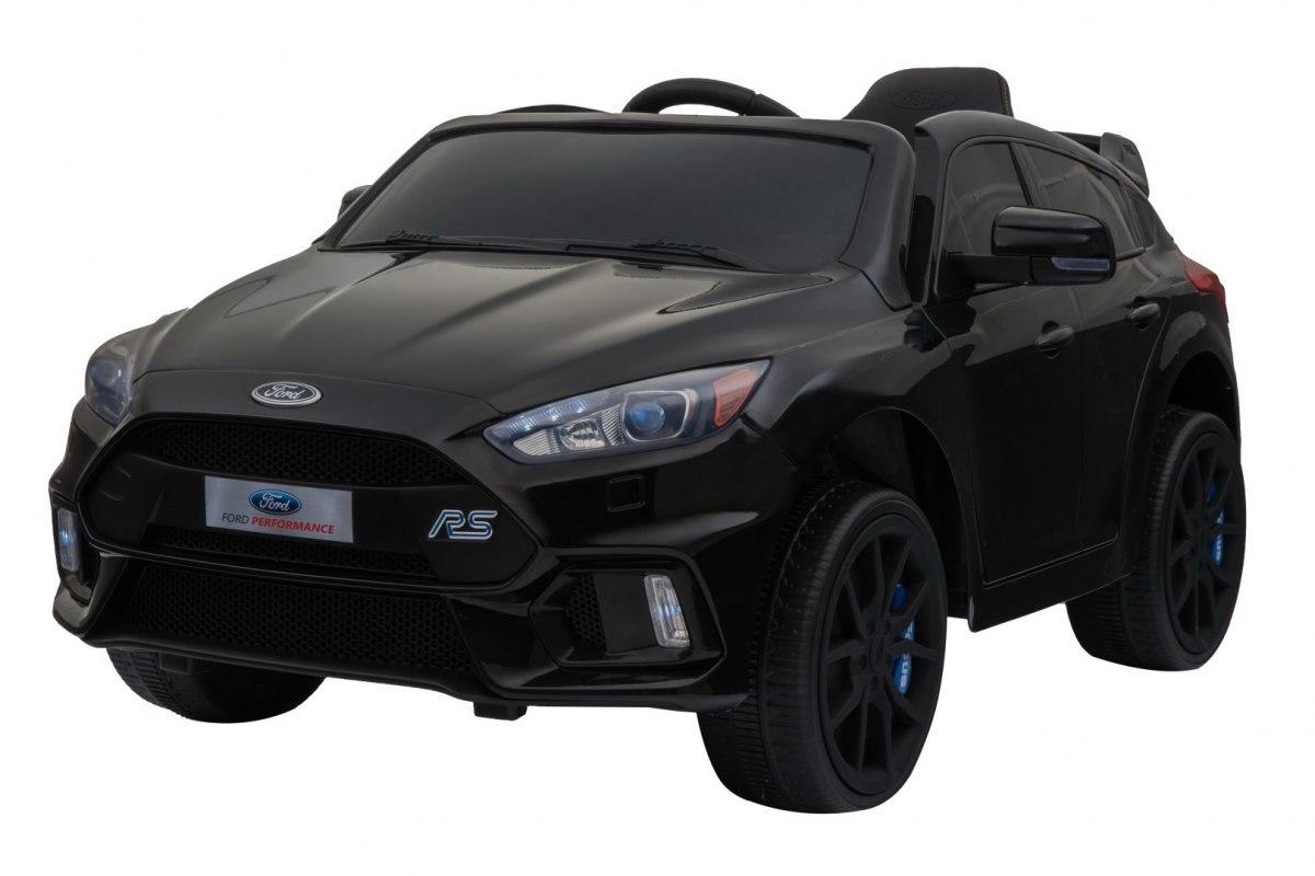 RKToys Ford Focus RS dětské elektrické auto - černá