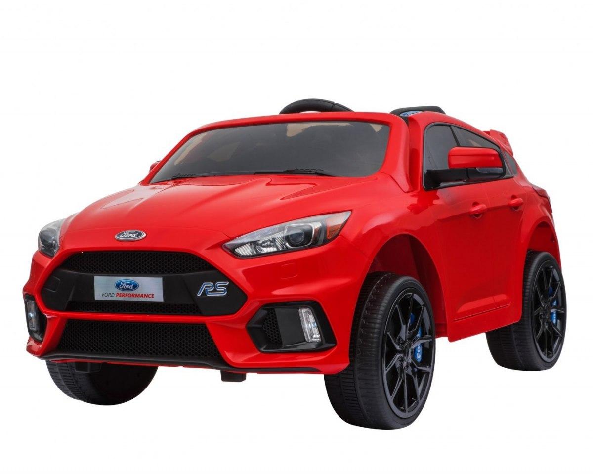 RKToys Ford Focus RS dětské elektrické auto - Červená