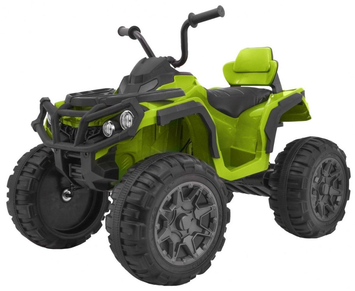 Elektrická čtyřkolka ATV s dálkovým ovládáním - zelená
