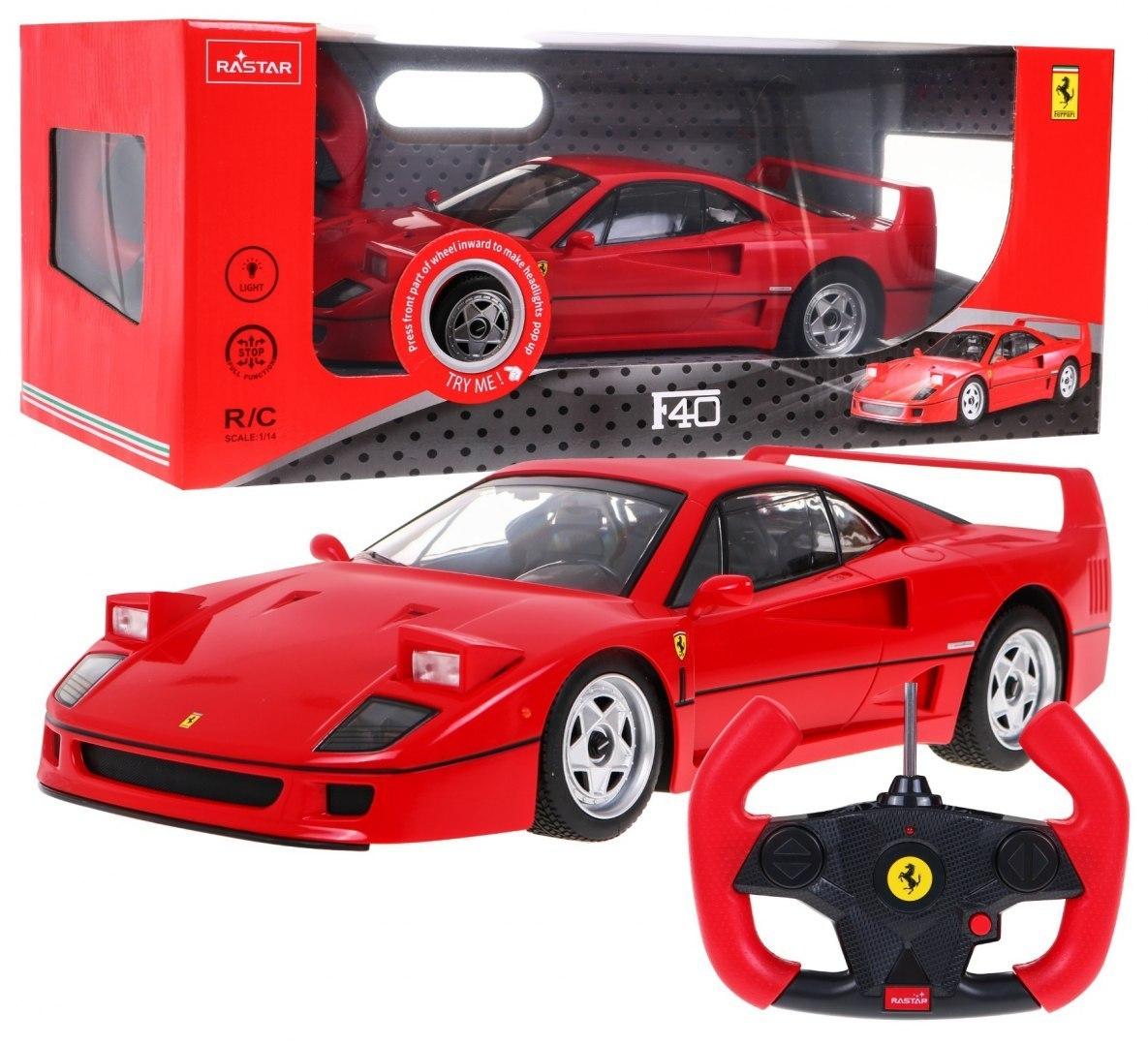 Rastar Auto Ferrari F40 na dálkové ovládání 1:14