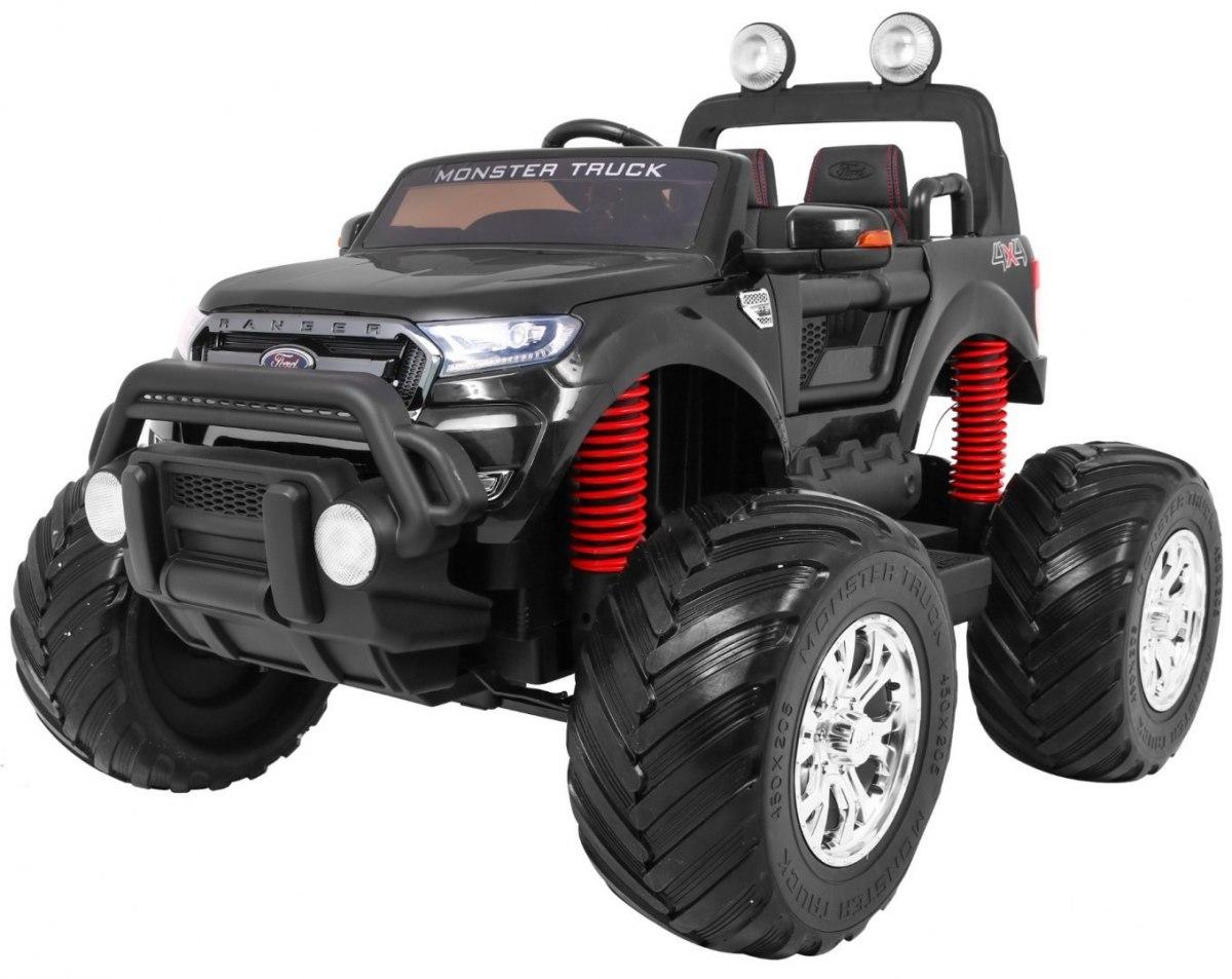 Ford Ranger Monster dětské elektrické auto 4x4 - Černá
