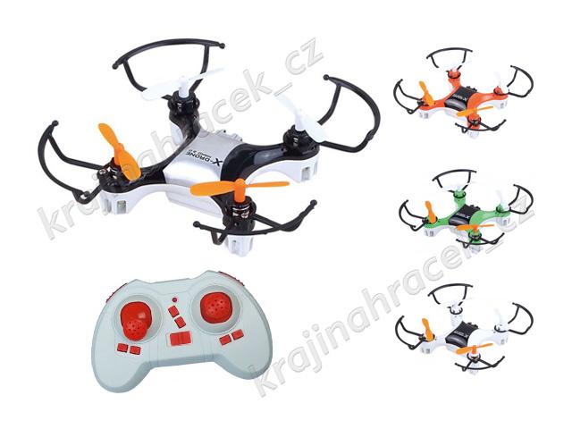Dron na dálkové ovládání kvadrokoptéra Helicute