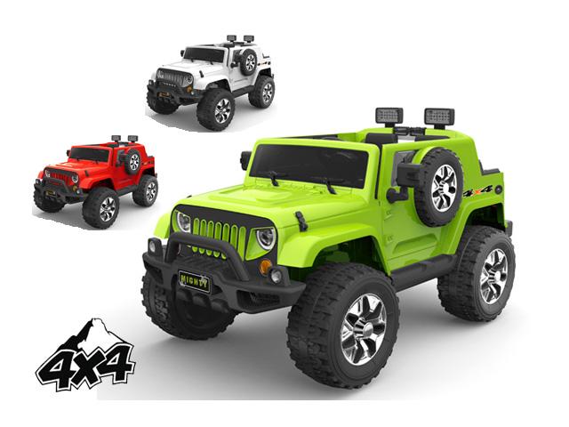 Dětské elektrické auto Jeep Raptor Mighty 4x4 pěnová kola