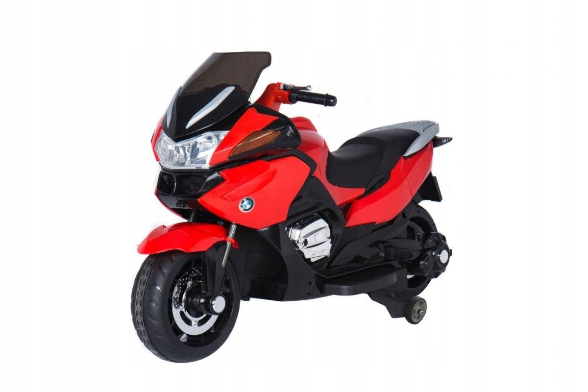 RKToys Závodní elektrická motorka červená