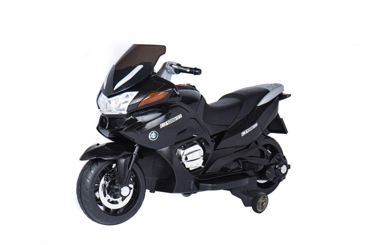 RKToys Závodní elektrická motorka Černá