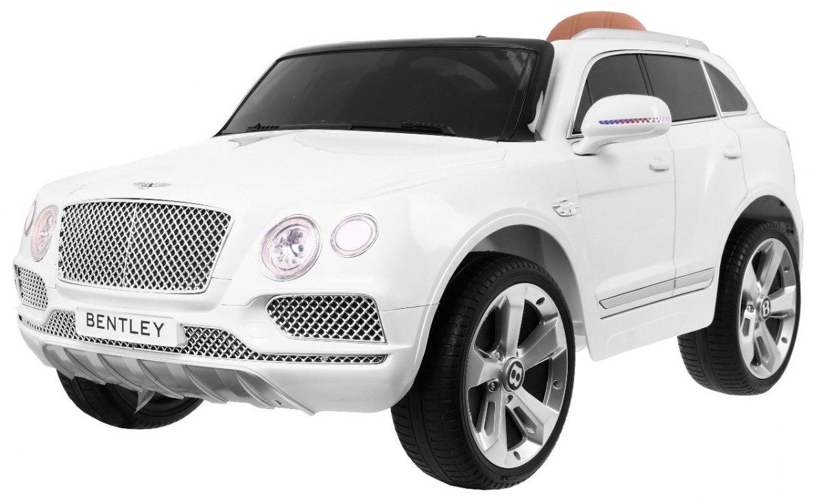 RKToys Dětské elektrické auto Bentley Mentayga - bílá