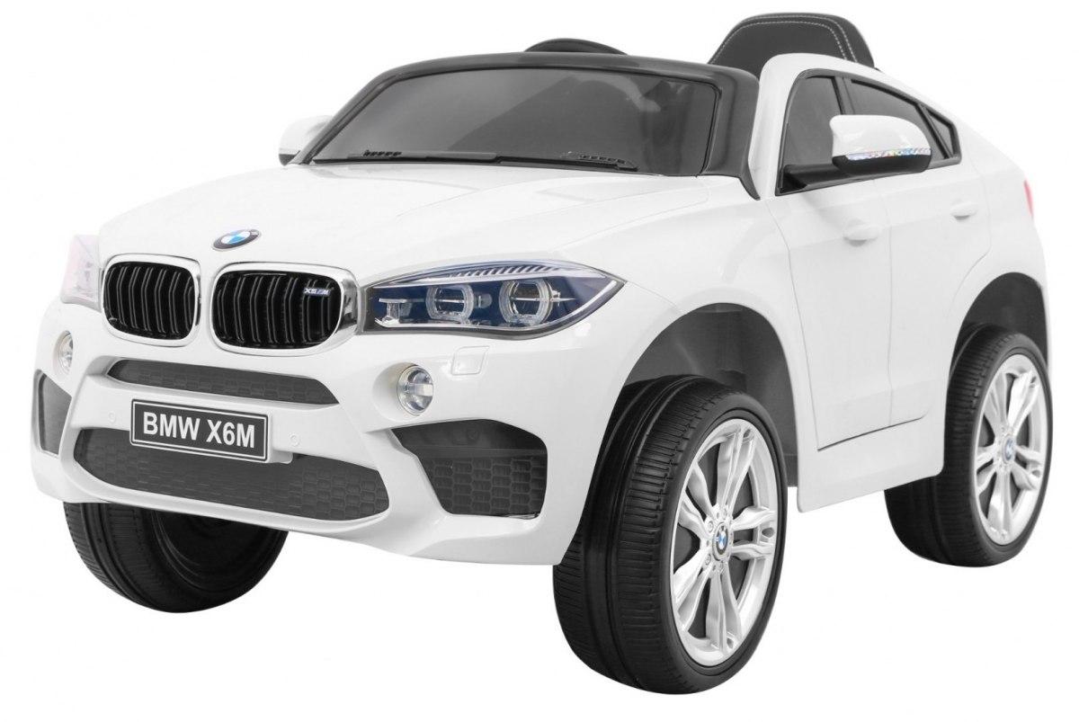 RKToys BMW X6M Dětské elektrické auto - Bílá